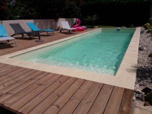 Jolie piscine à Vienne