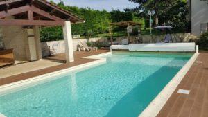 Belle piscine à Vienne