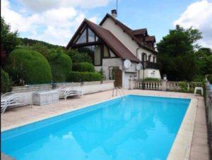 Superbe piscine à Dampsmesnil