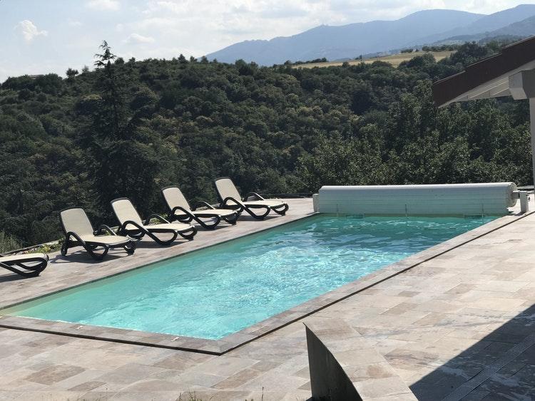 Magnifique piscine à Condrieu