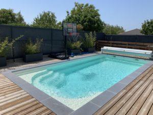 Jolie piscine à Royan